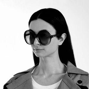 CHRISTIAN DIOR Blanca Sunglasses Oversized Round